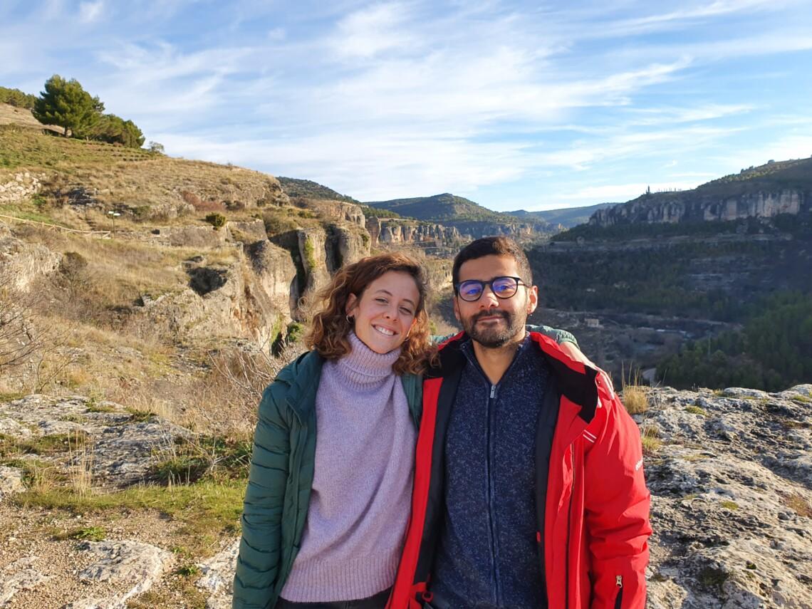 Daniel Sánchez y Alba Gómez Creadores del proyecto home2bee,